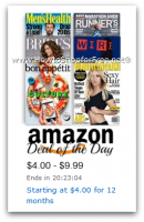 Amazon Deal of the Day—Magazines, Starting at $4.00/Year!