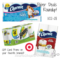 Low on Paper Goods? Target Has You Covered!! (Jan 22-28)