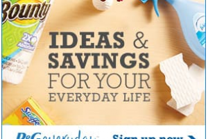 P&G Everyday Newsletter ~ FREE Coupons, Tips, Ideas + Samples!