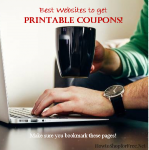 Where to find coupons on-line!