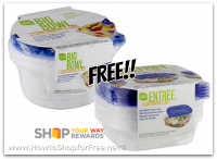 FREE Smart Sense Food Storage Containers w/ Lids!