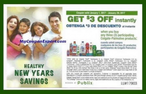Colgate coupons 3 off