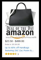 Up to 60% Off Handbags, featuring Zac Posen & More—DOTD!