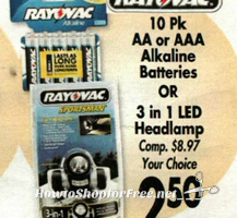 $1 Rayovac Alkaline Batteries @ Job Lot! (1/26-2/1)