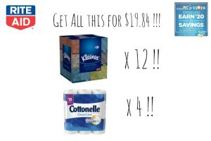 Rite Aid – Get All This For $19.84 !!! (1/15-1/21)