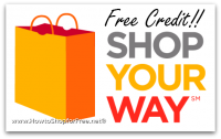 Free $2 Sears/Kmart Credit with Shop Your Way Rewards