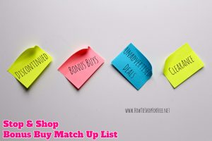 Bonus Buy Match Up List