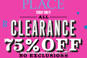 Today Only, 75% OFF Clearance at TCP + Free Ship!
