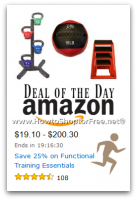 Save 25% on Functional Training Essentials—Deal of the Day
