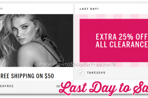 Last Day for HOT Victoria's Secret Savings!! (1/18)