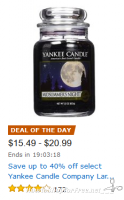 Yankee Candle Deal of the Day, Up to 40% OFF!