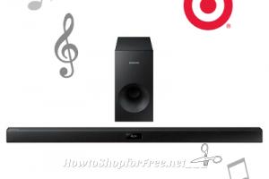 $52 Samsung 37″ Soundbar (72% OFF) #Target Price Drop!