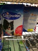 Companion Dry Dog Food $1.12 a bag!!