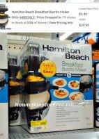 $1.50 Hamilton Beach Breakfast Burrito Maker, RUN!!!