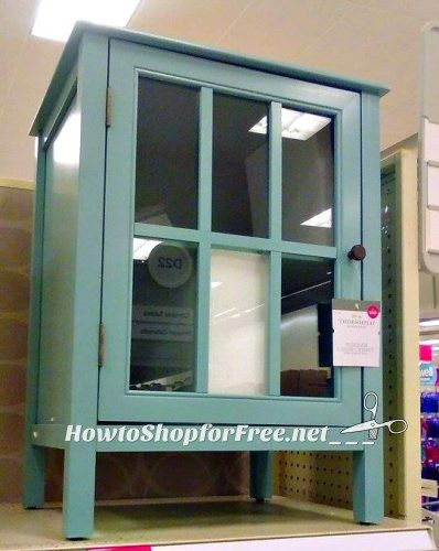 $8 Teal Cabinet! | How to Shop For Free with Kathy Spencer