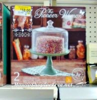 Pioneer Woman Cupcake Stand + Lid ~ as much as 96% OFF!