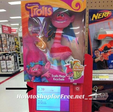 2.39 Trolls Keychain   How to Shop For Free with Kathy Spencer
