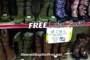 FREE Ladies Boots, Great for Donating ~ Crazy Deal