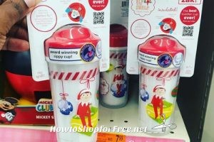 """Elf on the Shelf"" Sippy Cups 90% OFF @ Walgreen's (ymmv)"