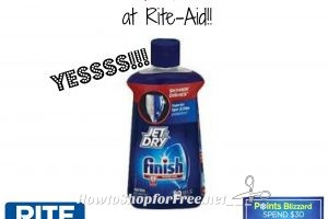 Finish Jet Dry only $1.89 at Rite-Aid!!! (2/12-2/18)