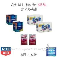 Get ALL this for $13.36 at Rite-Aid (2/19-2/25)