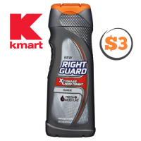 $3 Right Guard Body Wash @ Kmart! (2/12-18)