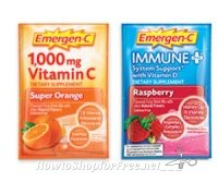 Free Samples of Emergen-C & Immune+ are Still Available!