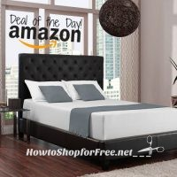 12″ Memory Foam Mattress, On Sale Today Only on Amazon!