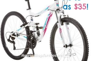 78% OFF Women's 26″ Mongoose Bike ~ Get Ready to Ride!