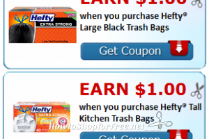 Buy Hefty, Earn Cash Back with Ibotta! *NEW*