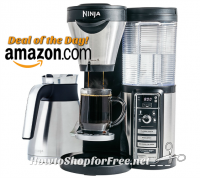 $78 OFF Ninja Coffee Bar Brewer+Goodies—Deal of the Day