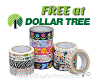 FREE Scotch Expressions Tape @ Dollar Tree ~Cute for Crafts!