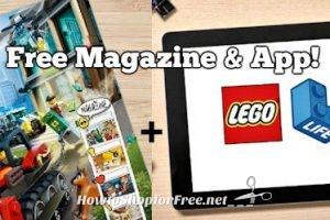Free LEGO Life Magazine Subscription + App!