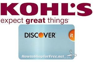 Discover Card Holders ~ Possible Free $10 Kohl's Cash!!