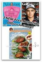 Grab 3 NEW Free Magazine Offers +2 Still Available! = 5 FREE!