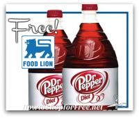 FREE Diet Dr Pepper for Food Lion Shoppers!
