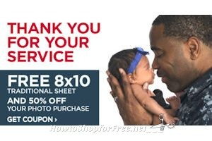 FREE 8×10 for Military Families at JCPenney Portraits!