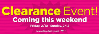 DG Clearance Event 2/10-2/12.. Remember to Share Your Finds!!