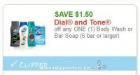 **NEW Printable Coupon** $1.50 off one Dial and Tone
