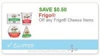 ***NEW***$0.50 off one Frigo Cheese