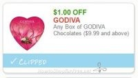 Print ASAP, Valentine's Day is Coming!! ~ $1.00 off one Godiva