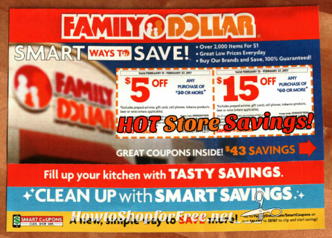Keep An Eye On Your Mailbox For A Family Dollar Coupon Book