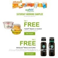 Shaw's MyMixx Saturday Sampler ~ 2 Freebies for You Through 02/27 (clip by 02/26)!