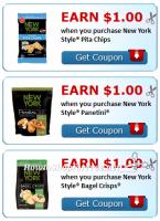 $3 Cash Back wyb New York Style® Snacks!