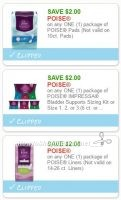 **New Printable Coupons** Three Poise Coupons Pre-Clipped for You!
