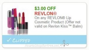 graphic about Revlon Printable Coupon named Sizzling** Clean Printable Coupon**$3.00 off a person Revlon Lip