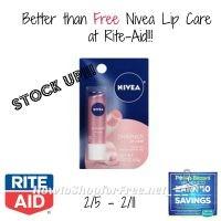 $2.00 MM on Nivea Lip Care at Rite Aid!!! 2/5 – 2/11