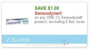 image about Sensodyne Printable Coupon called Contemporary Printable Coupon** $1.00 off a single Sensodyne How towards Retail store