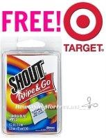 FREE Shout Wipes at TARGET!