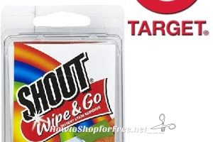 FREE Shout Wipes at TARGET!